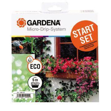 Ensemble de base Micro Drip pour jardinières