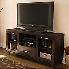 Adrian 59.5-inch x 27.75-inch x 17-inch TV Stand in Brown