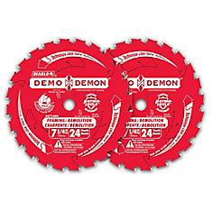 Ens. de Deux Lames Demo Demon 7-1/4 po.