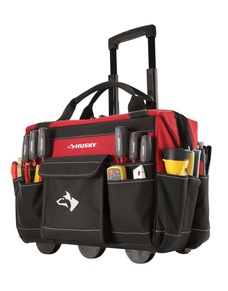 18 Inch Rolling Tool Tote