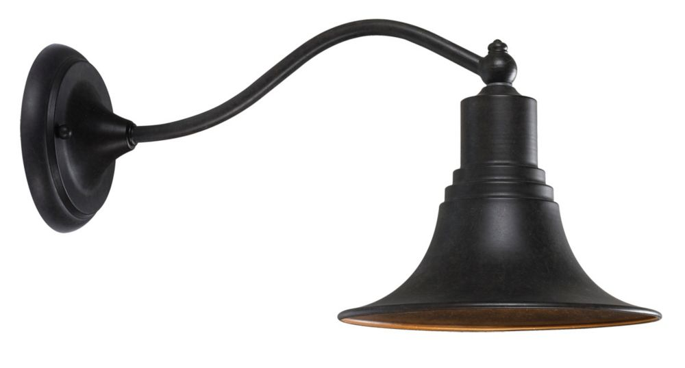 Dark Sky Kingston Collection Wall-Mount Outdoor Bronze Lantern