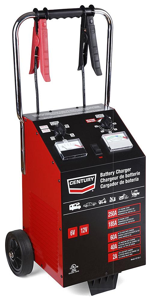 chargeur/testeur century<sup>®</sup> 250a 60/40/2/250