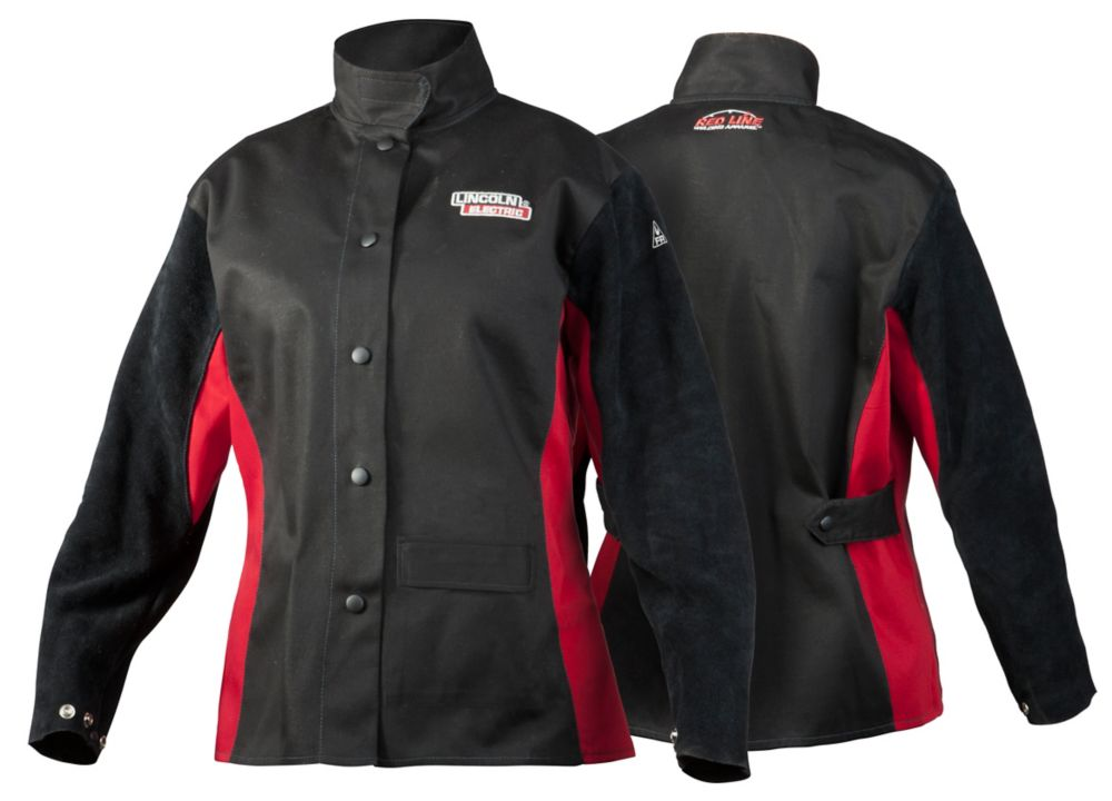 jessi combs women's shadow fr welding jacket m