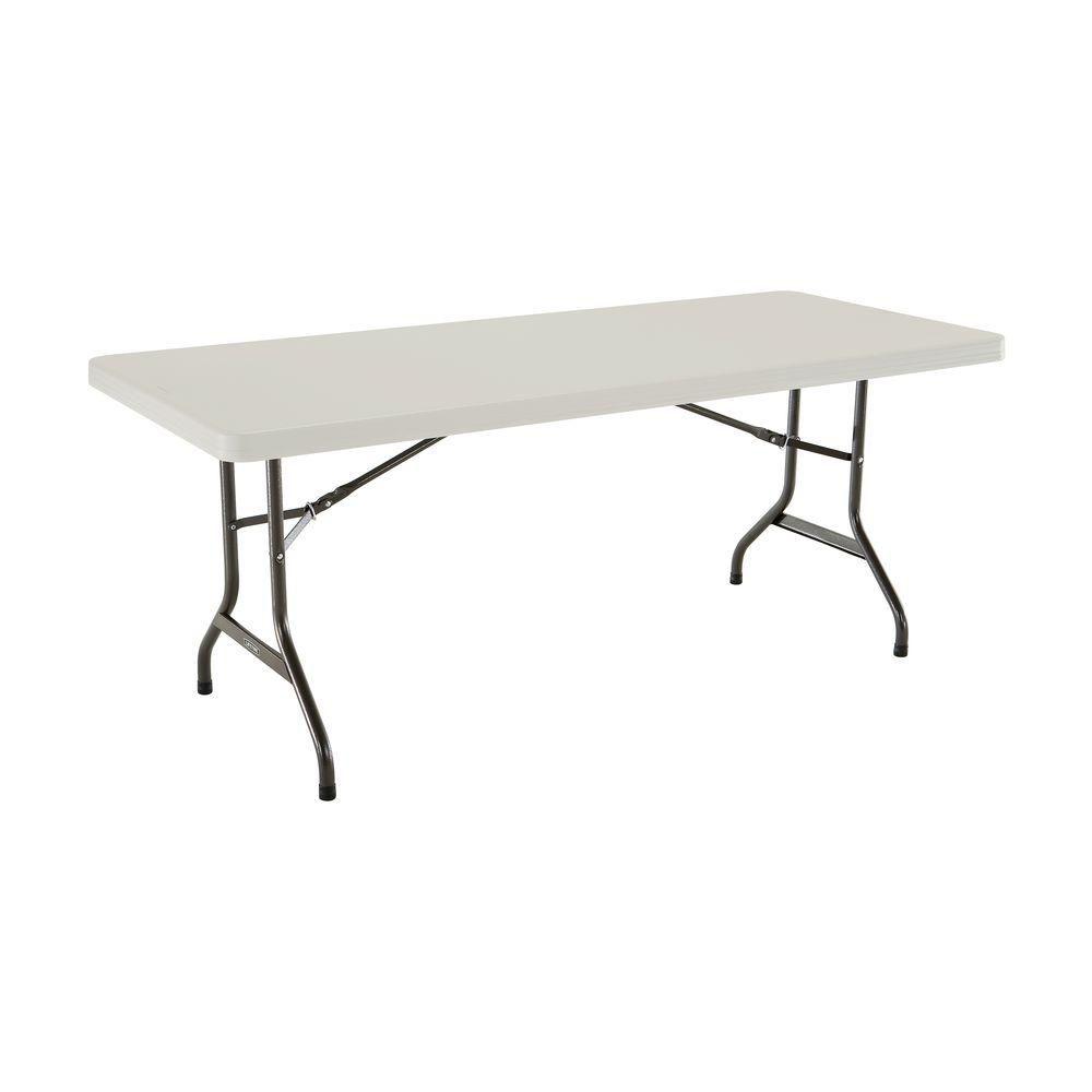 Plastic Folding Banquet Table - 6 Feet