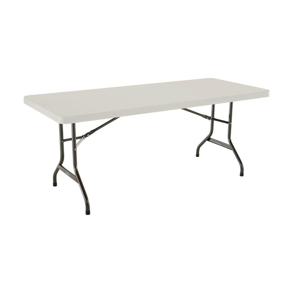 Plastic Folding Banquet Table - 6 Feet
