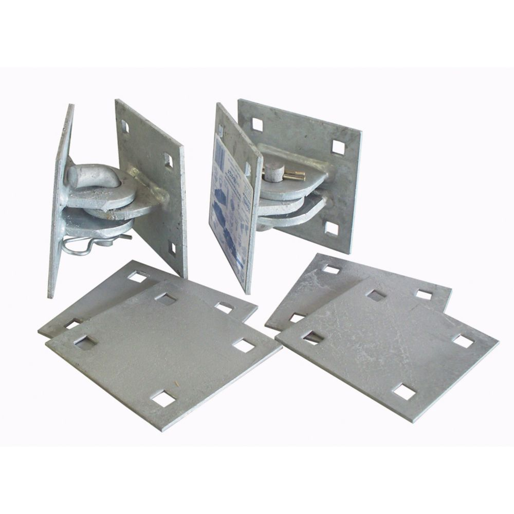 Dock Edge Floating Dock Connector Kit with Galvanized Steel Hardware