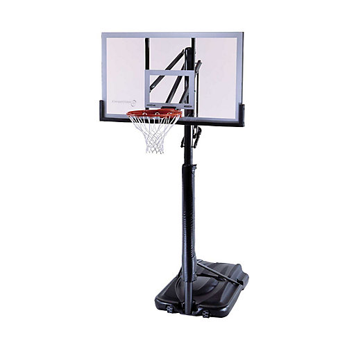 Panier de basket-ball portable de 1,4 m (54 po) Shatter Guard