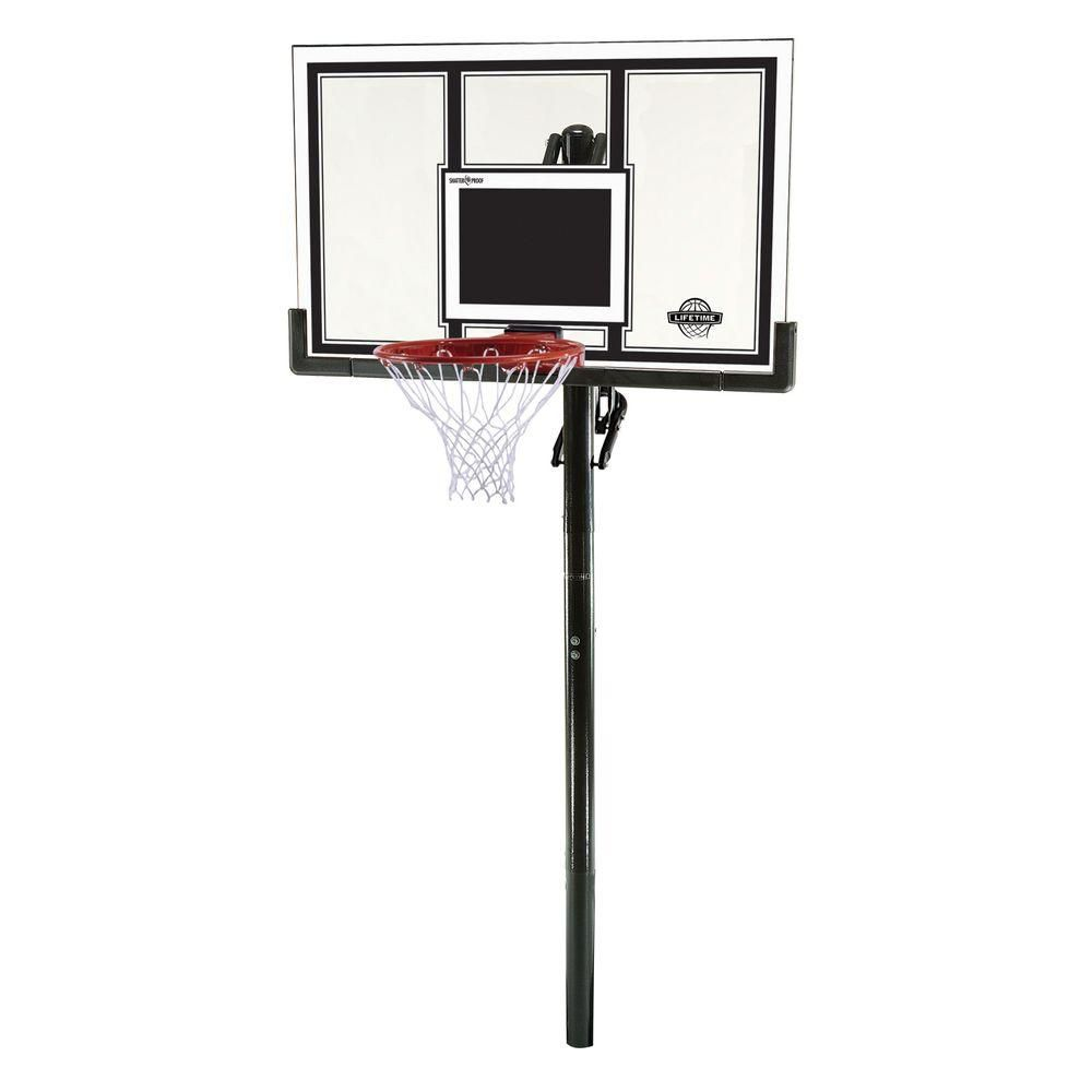 Lifetime Shatter Guard In-Ground Basket - 54 Inch