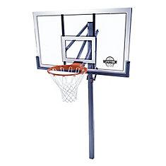 54-inch Acrylic In-Ground Basketball Hoop