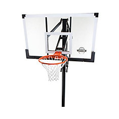 Temp Glass In-Ground Basketball - 54 Inch