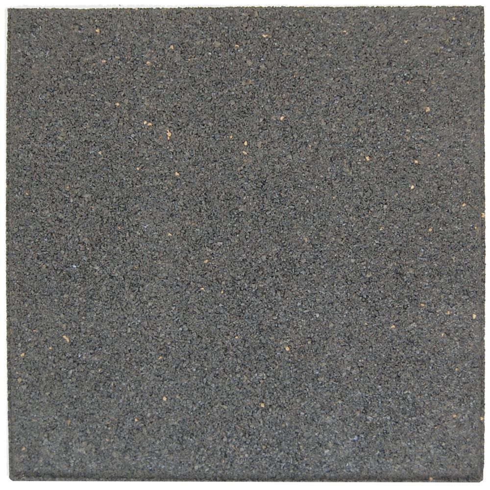 Flat Profile Envirotile, Grey - 18 Inch x 18 Inch  - 1040 Pack