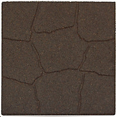 Flagstone Envirotile, Earth - 18 Inch x 18 Inch  - (1040-Pack)