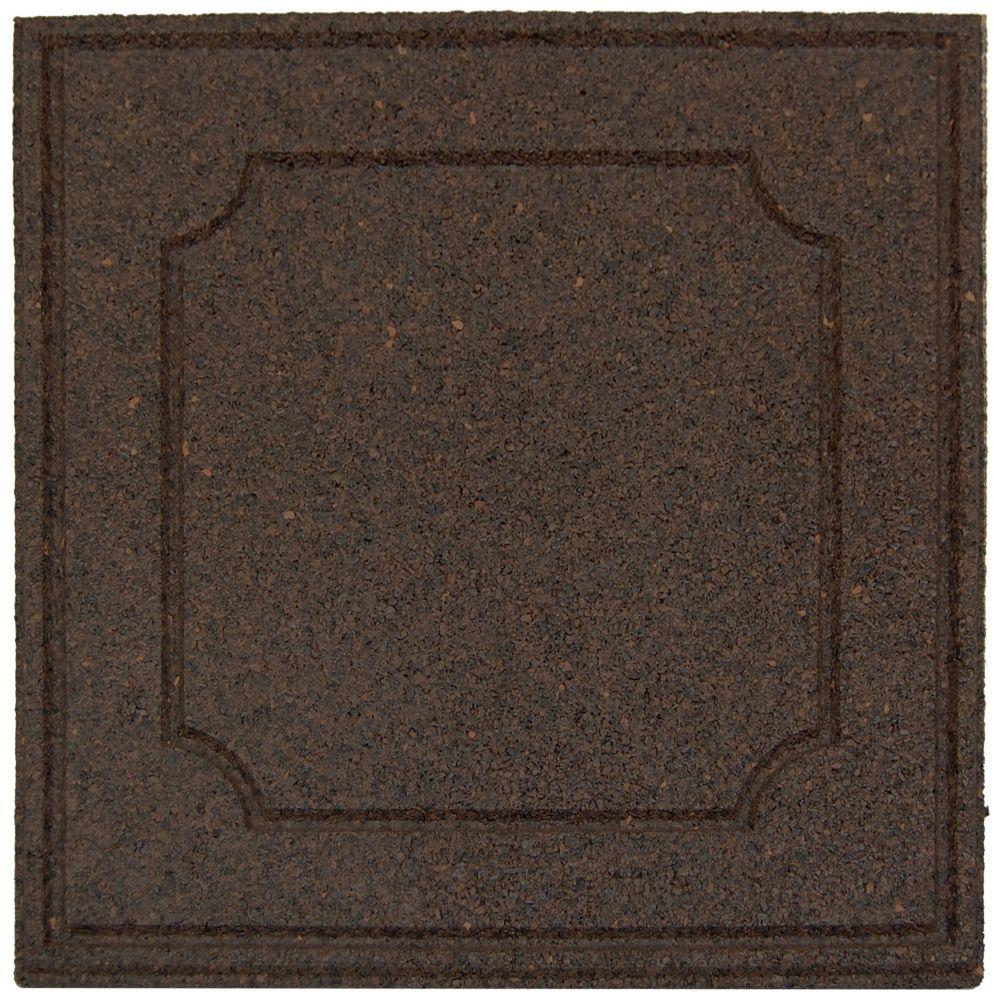 Envirotile Provincial Envirotile, Earth - 18 Inch x 18 Inch  - 1040 Pack