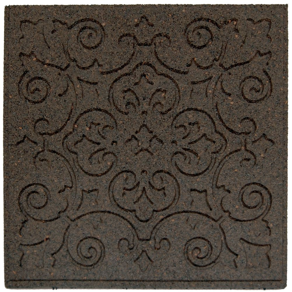 Terrace Envirotile, Earth - 18 Inch x 18 Inch  - 1040 Pack