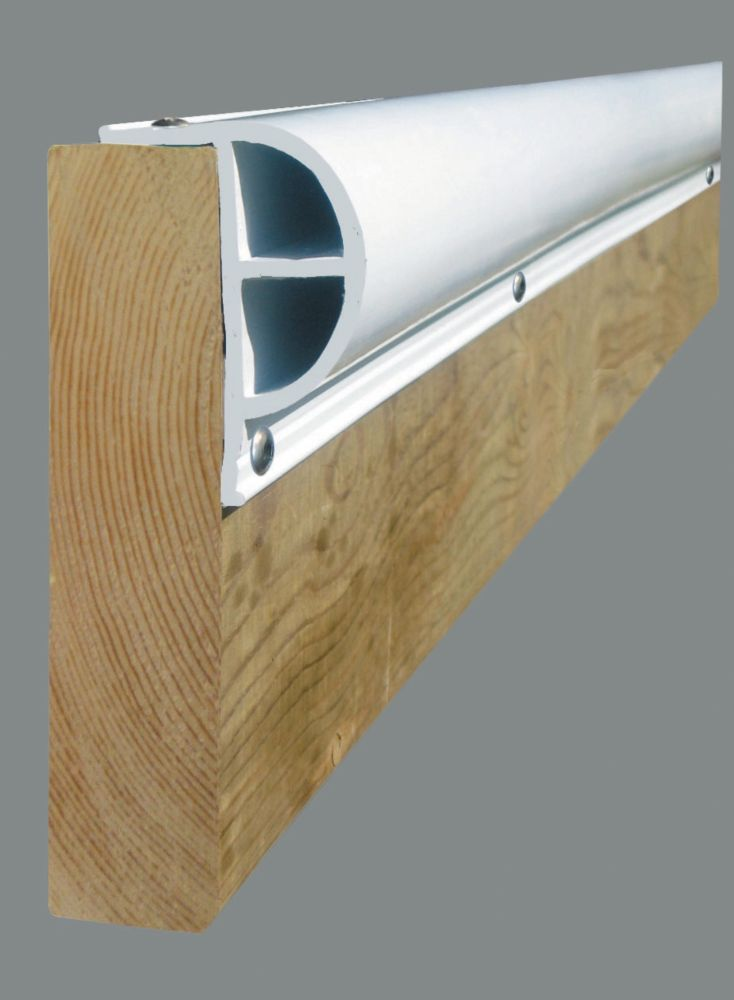 Dock Edge 24 ft. Heavy P Profile in White