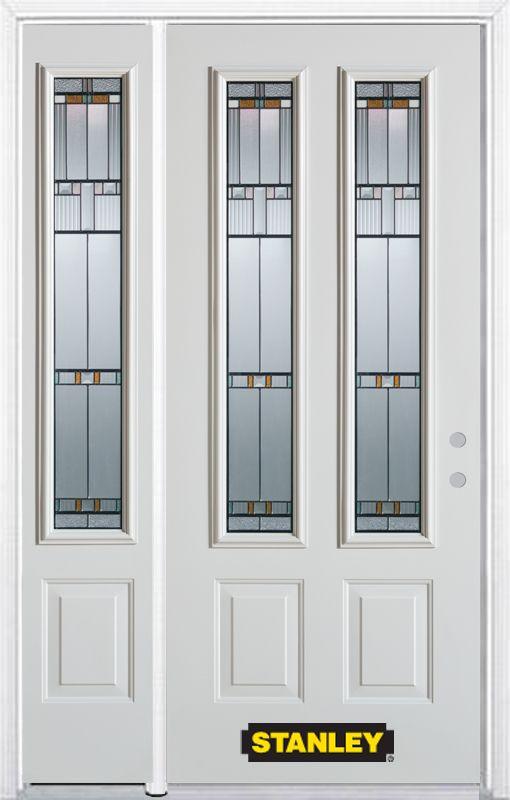 Stanley doors 50 inch x 82 inch chicago 2 lite 2 panel for Exterior doors home depot canada