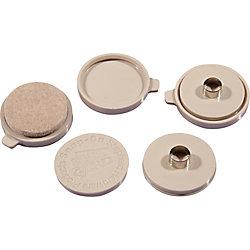 Everbilt Patins de meubles résistants à enclenchement / encliquetage de 25 mm, 8 pièces