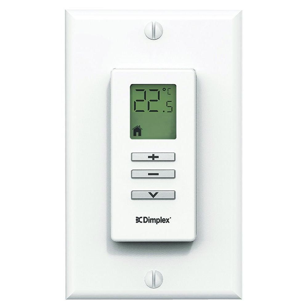 Wall Mount Remote Thermostat Kit - White