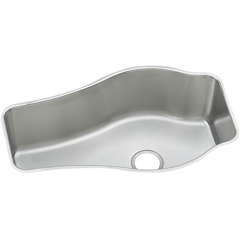 Elkay Single Bowl Undermount Sink, Lustrous Satin 18 Gauge Stainless Steel, 36 Inch x 20 9/16 Inch x 10 Inch Deep