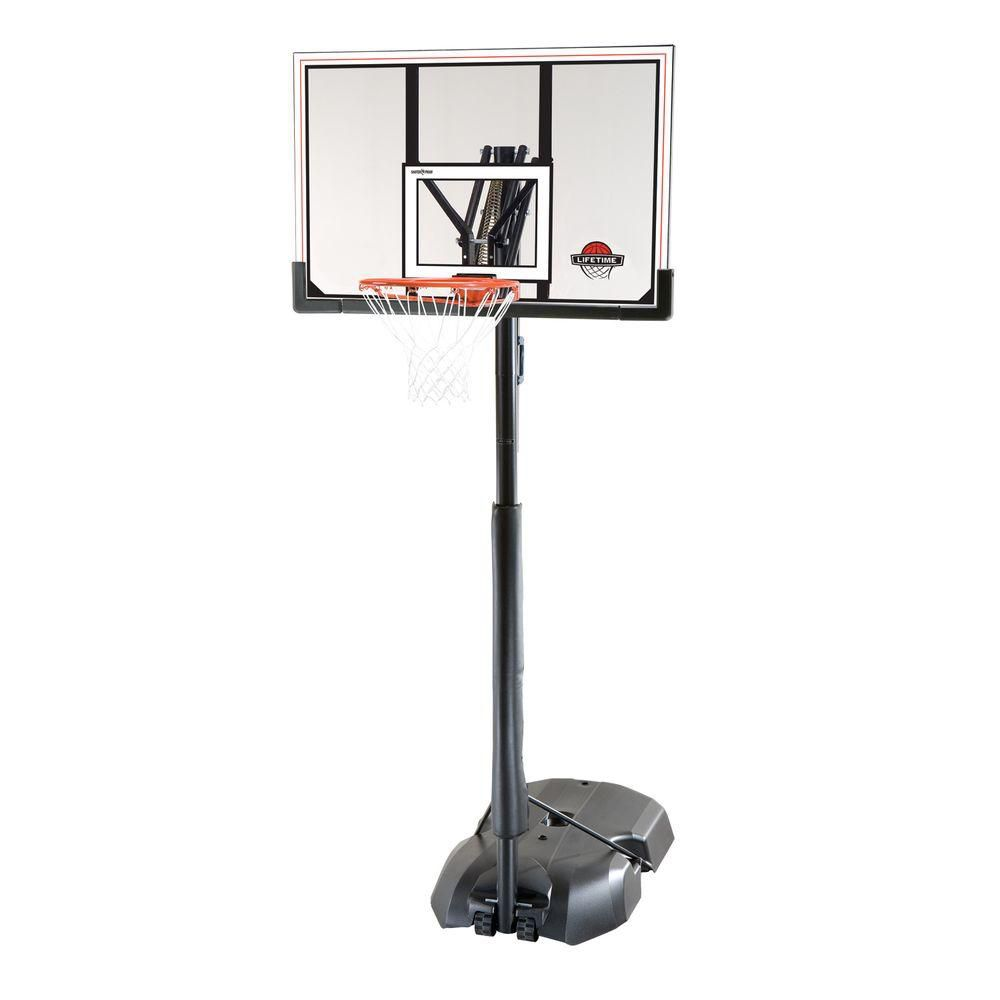 Lifetime 50-inch Acrylic Shift Portable Basket Ball Net