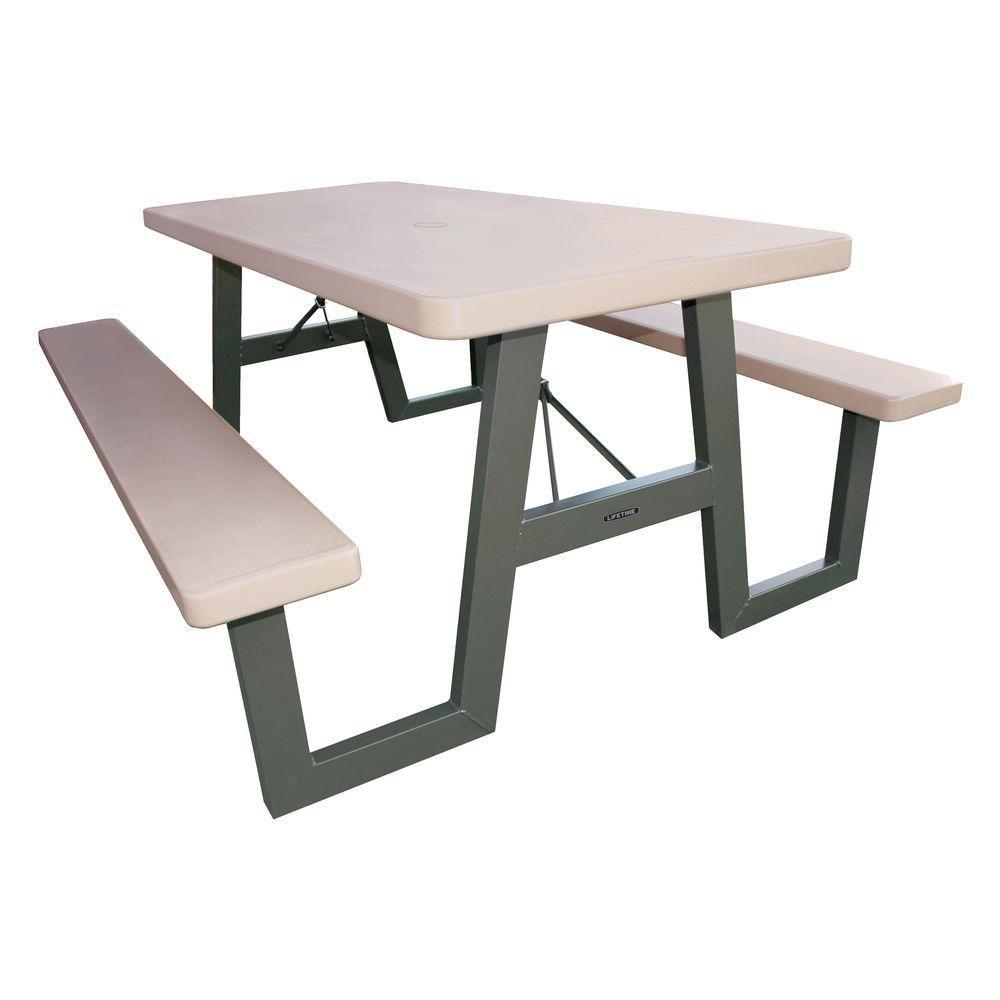A-Frame Folding Picnic Table - 6 Feet