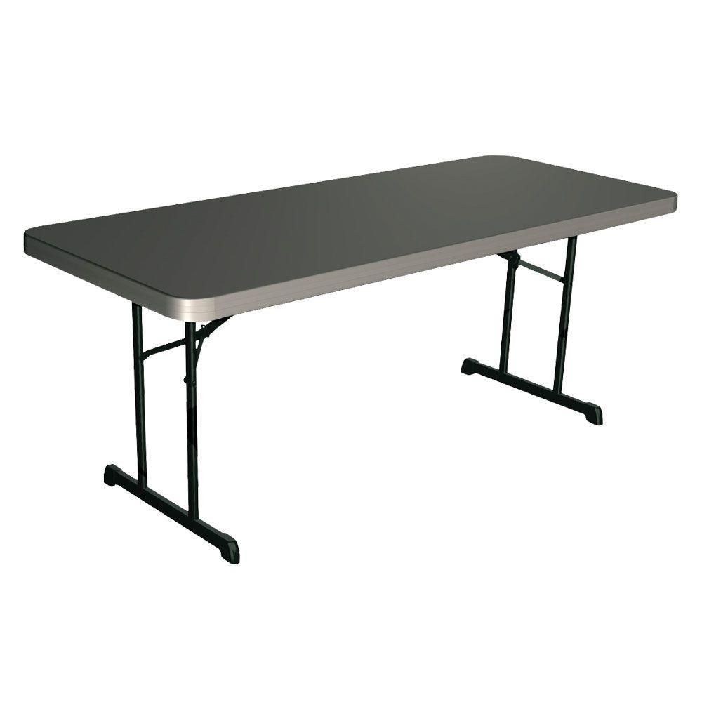 Table de qualité professionnelle de 1,83m (6pi) (mastic)