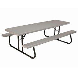 Lifetime 8 ft. Commercial-Grade Folding Picnic Table