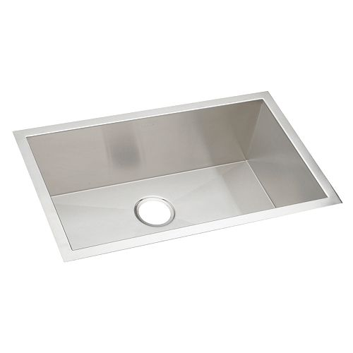 Elkay Single Bowl Undermount Sink, Polished Satin 16 Gauge Stainless Steel, 36 Inch x 18 1/2 Inch x 10 Inch Deep
