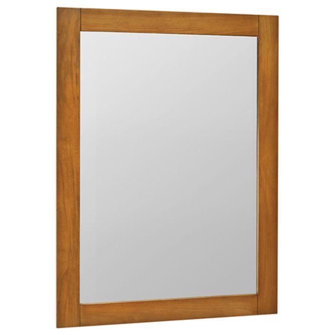 Palisades Bourbon Cherry Wall Mirror - 40 Inch x 30 Inch