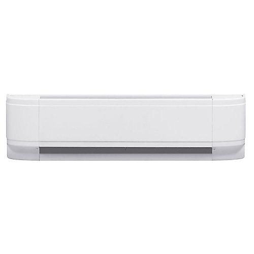 750W Linear Convector Baseboard - White