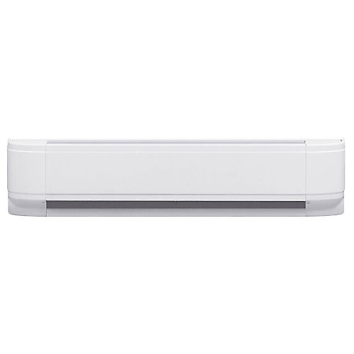 1000W Linear Convector Baseboard Heater in White