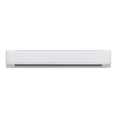 1500W Linear Convector Baseboard Heater in White