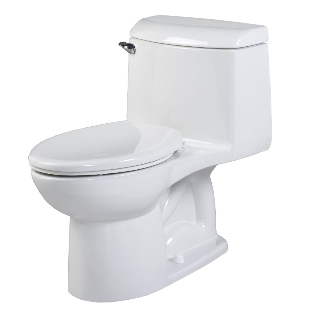 Champion 4 One Piece 1.59 Gal. GPF Elongated Toilet in White