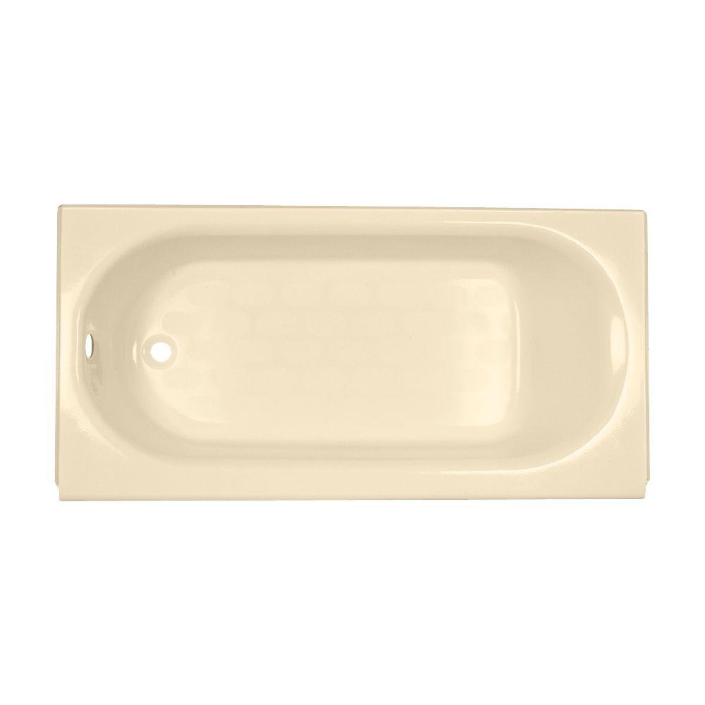 American Standard Princeton 5 Feet Americast Non Whirlpool Bathtub in Bone