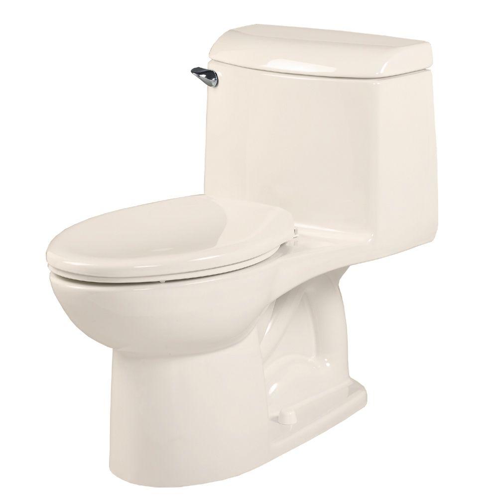 Champion 4 1-Piece 1.59 GPF Single Flush Elongated Bowl Toilet in Linen