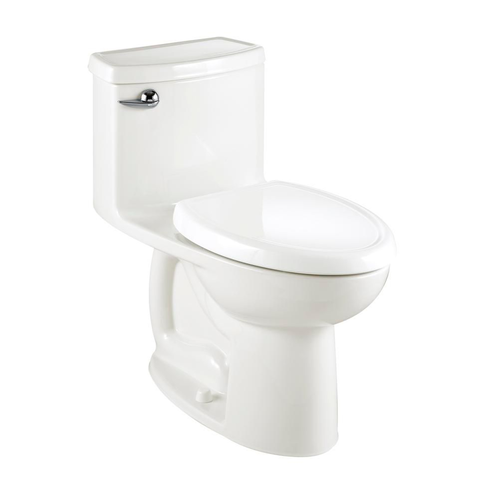 Compact Cadet 3 FloWise 1-Piece 1.27 GPF Single Flush Elongated Bowl Toilet in White