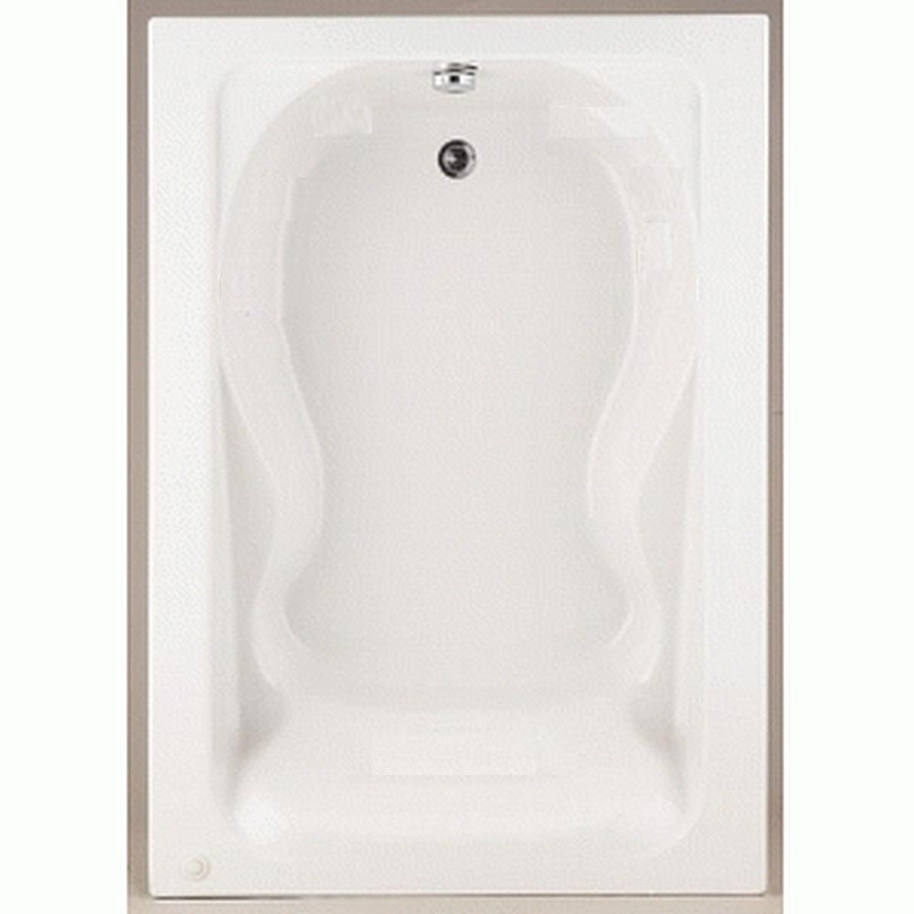 Cadet 5 feet Acrylic Bathtub with Reversible Drain in White 2772.002.020 Canada Discount