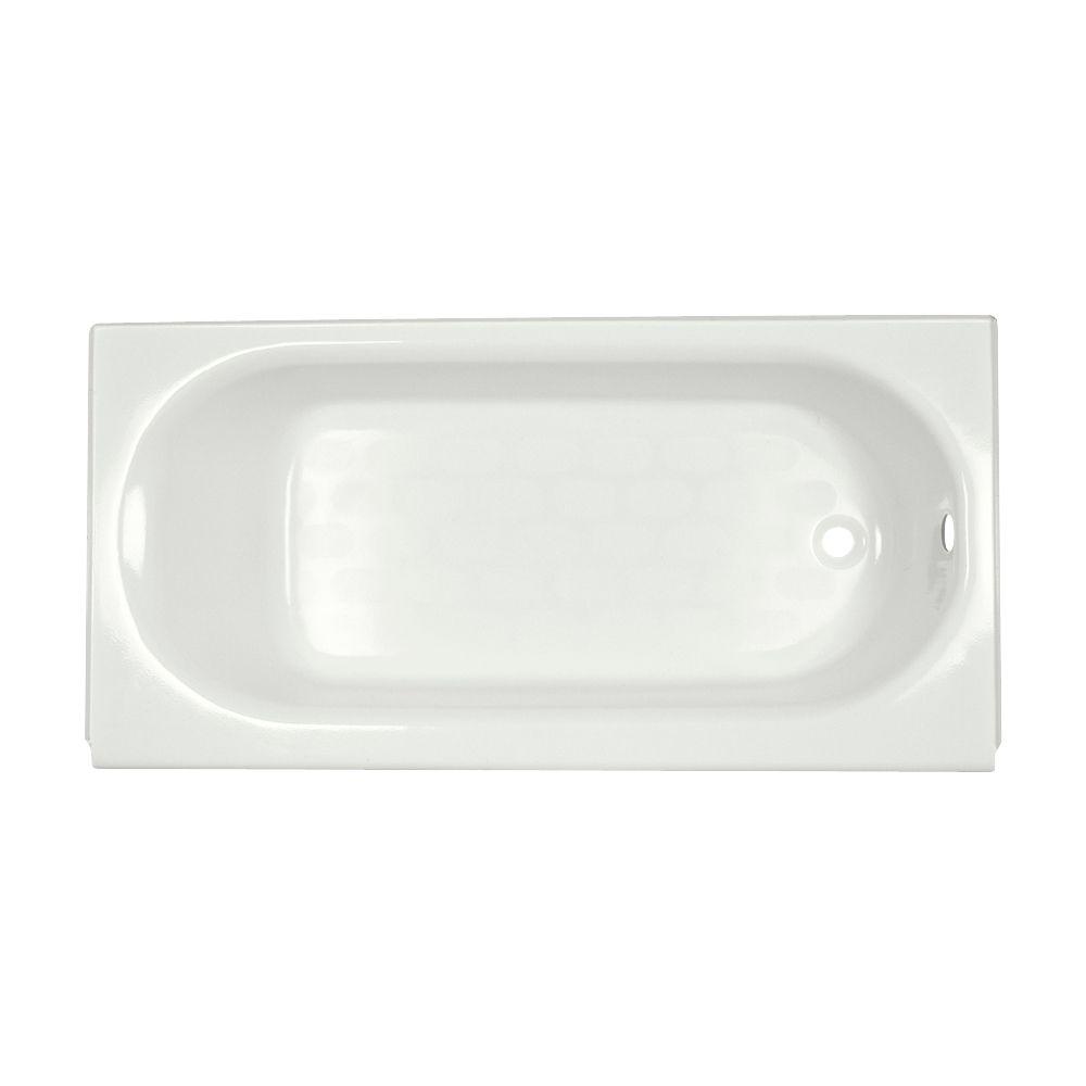 Baignoire au-dessus du plancher avec renvoi intégral de 5 pi Princeton� blanche
