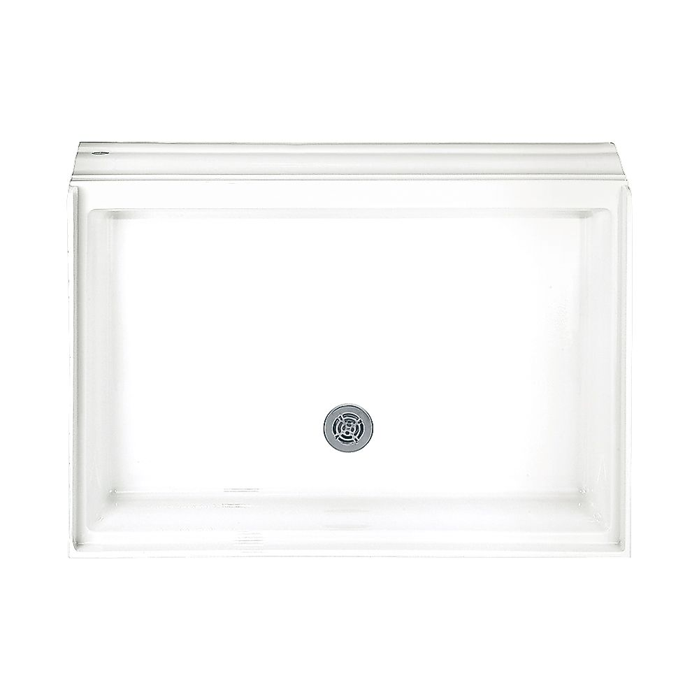 Town Square 34 Inch x 48 Inch Single Threshold Shower Base in White 4834.STTS.020 Canada Discount