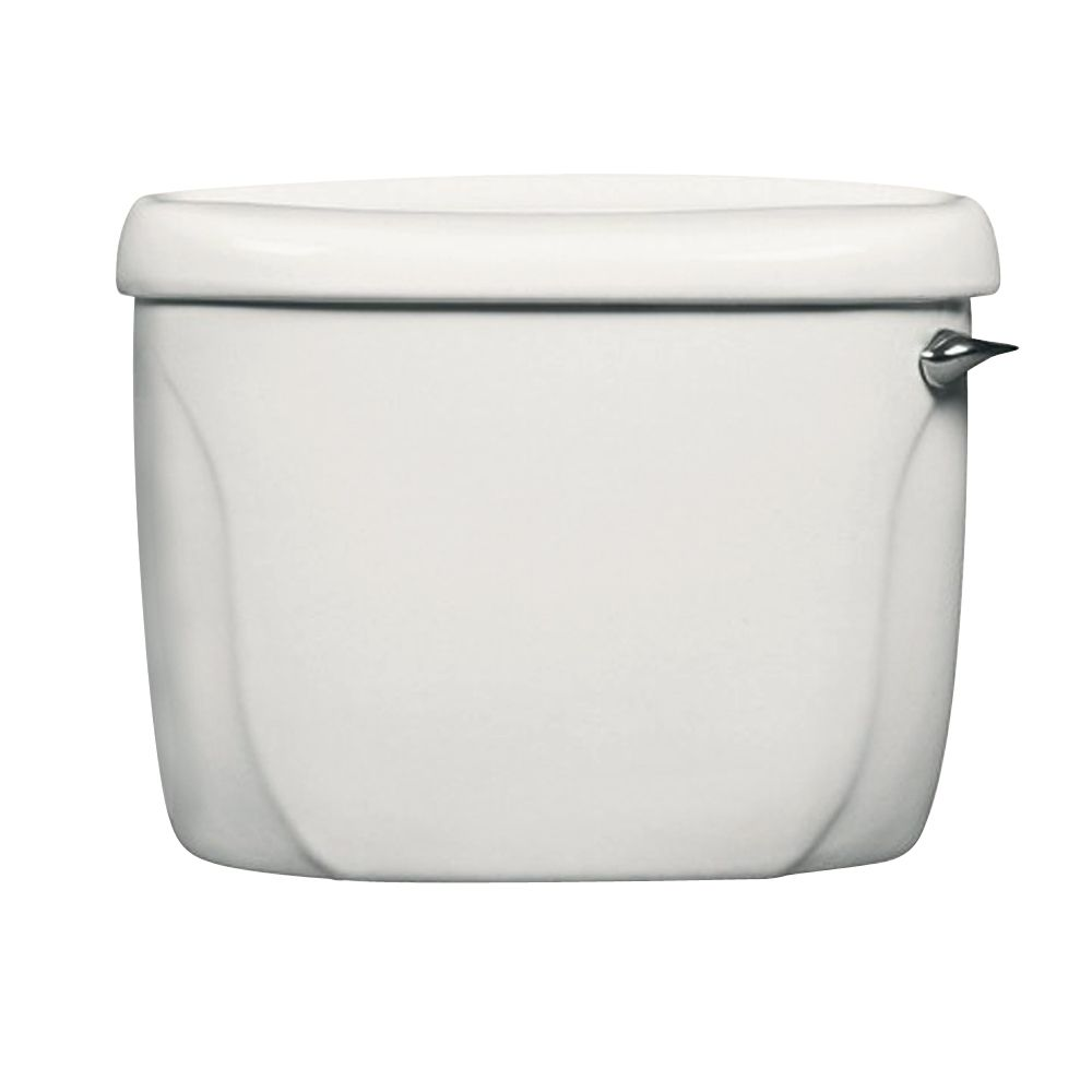 Cadet Single Flush Toilet Tank Only with Right Hand Trip Lever in White