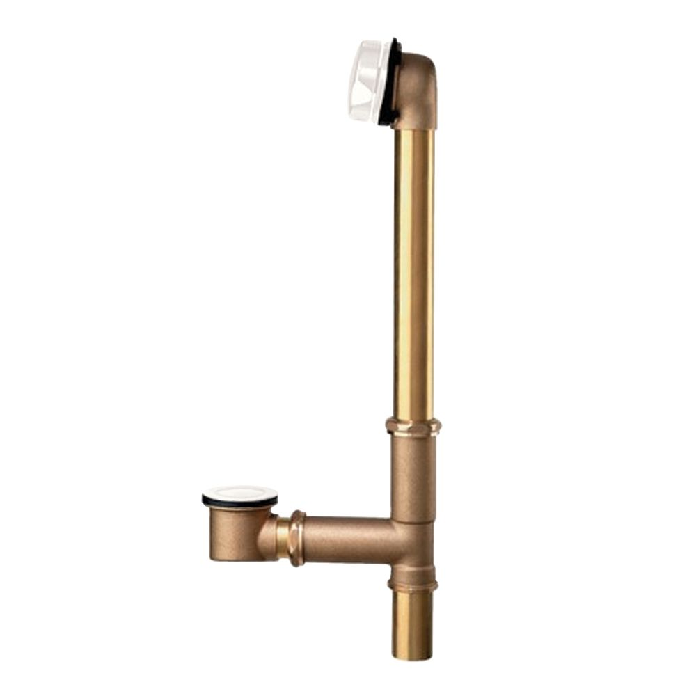 Brass Universal Bath Drain in White 1583.470.020 in Canada