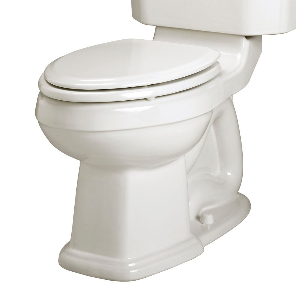 Portsmouth Champion Right Height Elongated Toilet Bowl Only Less Seat in White