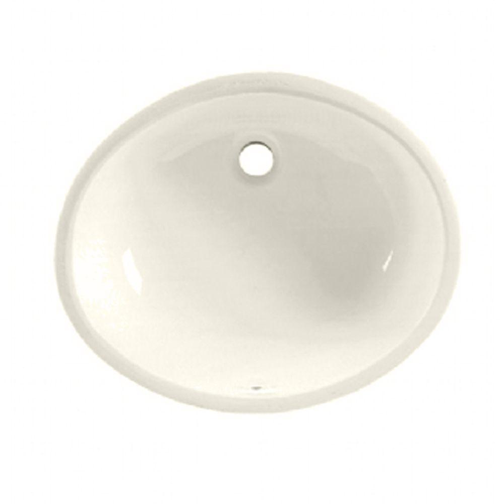 Ovalyn Undermount Bathroom Sink in Linen