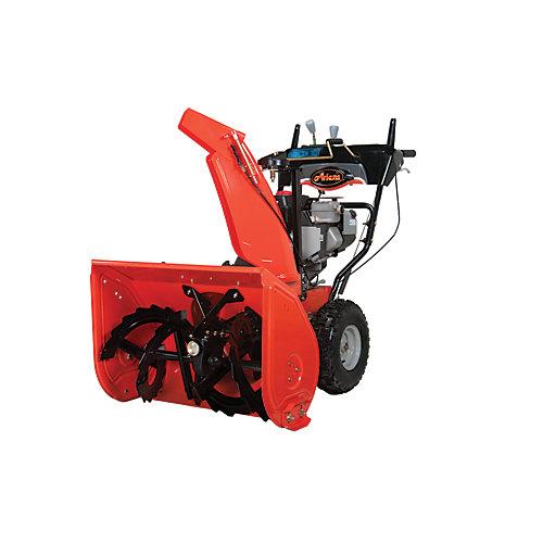 Ariens ST24LE Deluxe 24, démarreur électrique 120 volts, largeur de déblaiement de 61 cm.