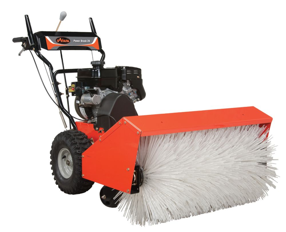 All Season Power Brush 120v Electric Start Gas Snow Blower with 28-Inch Clearing Width