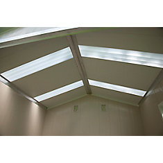 Translucent Skylight Panel Kit for Vision S8070 Shed
