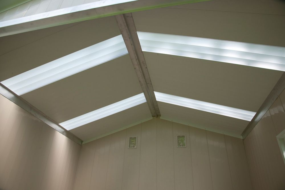 Translucent Skylight Panel Kit for Vision S9580 Shed