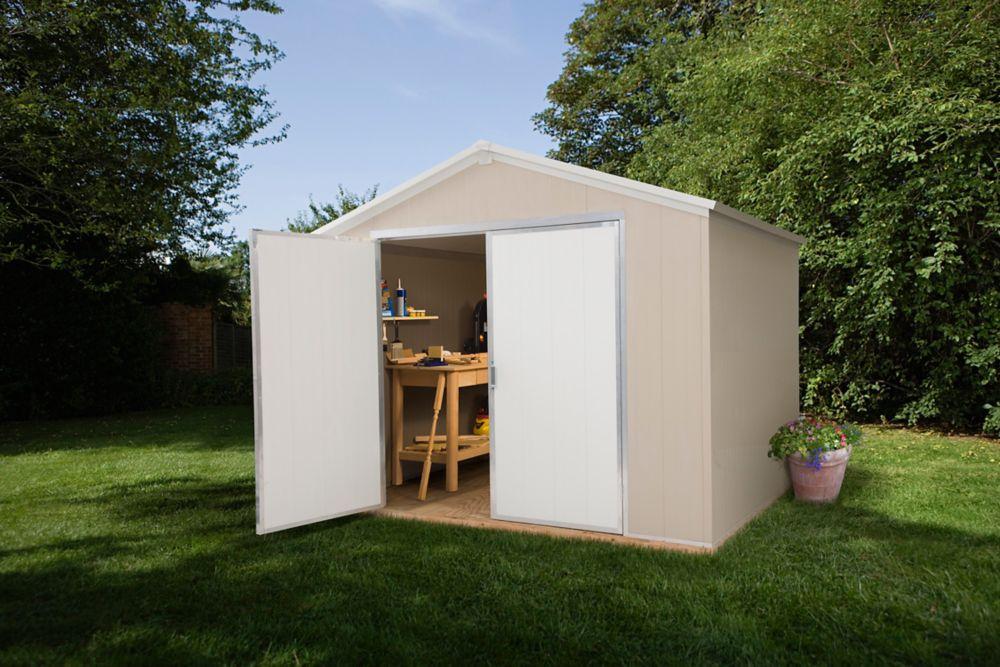 Santa rosa garden shed 8 ft x 12 ft sr812 canada for Garden sheds canada