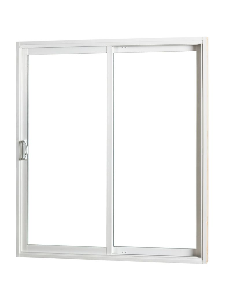 Sure glide patio door sliding patio door with low e 6 foot for Six foot sliding glass door
