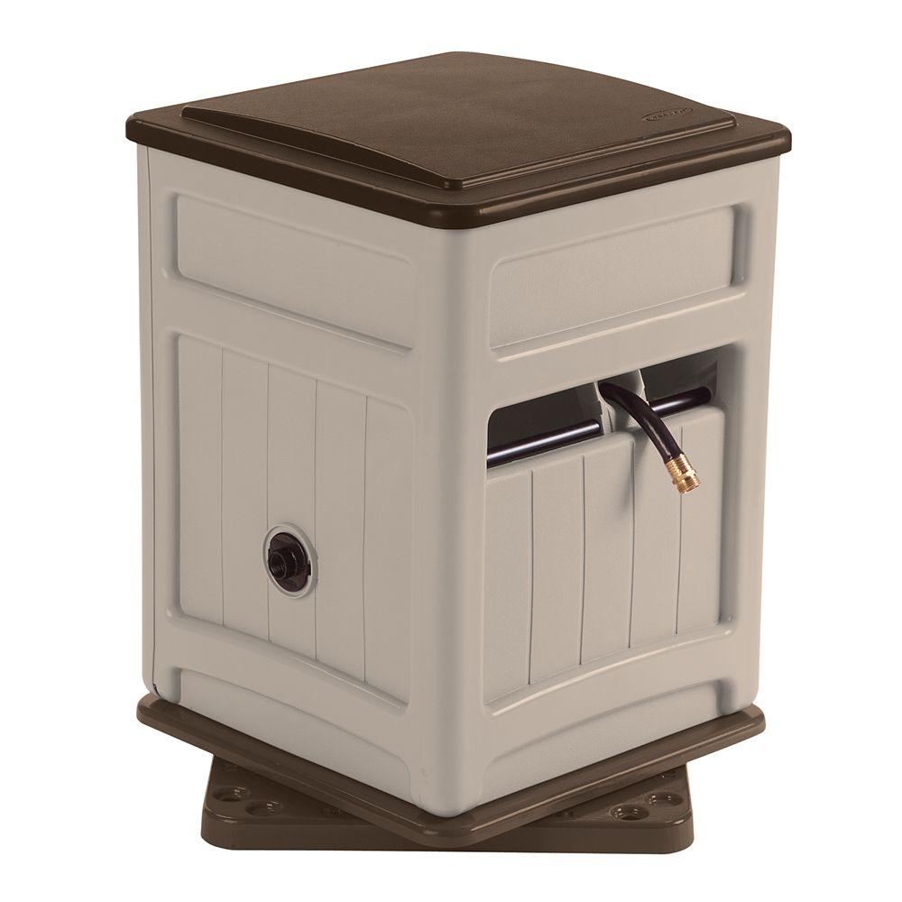 225` Capacity Swivel Hose Hideaway with Storage